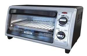black & decker 4-slice toaster oven