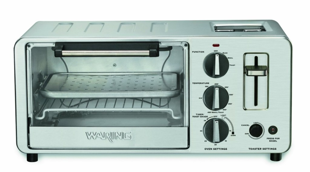 waring wto toaster oven with built in toaster