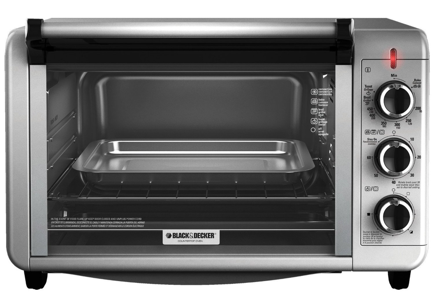 Toaster Oven Black Decker TO3210SSD
