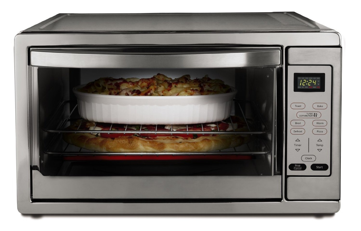 Countertop Convection Oven Chicken : Oster TSSTTVDGXL-SHP Review ? Extra Large Digital Toaster Oven
