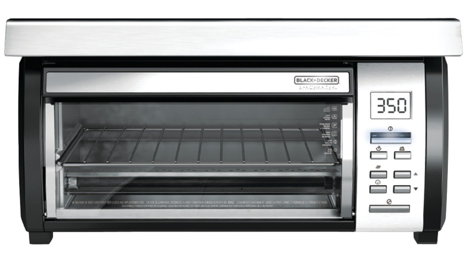 Under Cabinet Toaster Oven : Black & Decker TROS1000