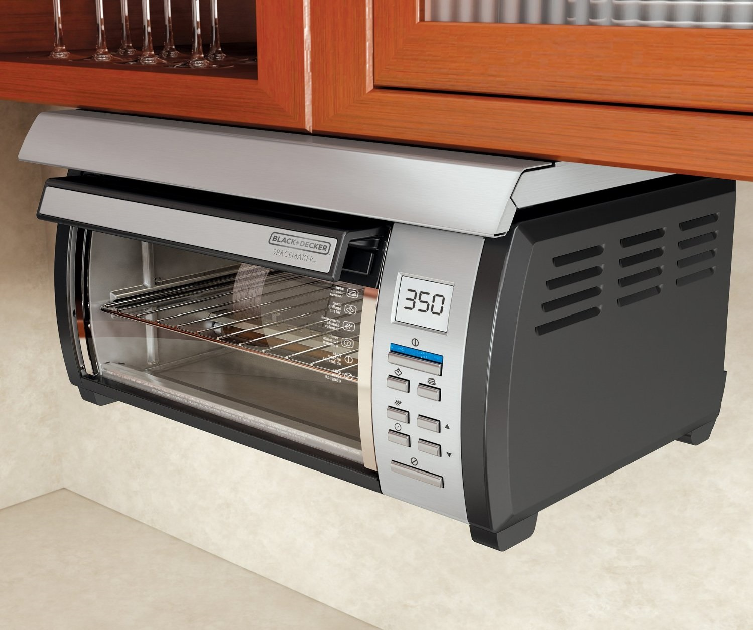 Under Cabinet Toaster Oven Black Amp Decker Tros1000