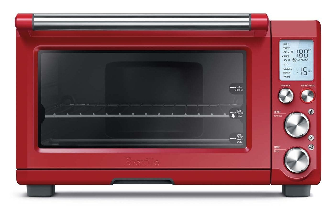 Red toaster oven reviews which is the best model to buy for Breville toaster oven