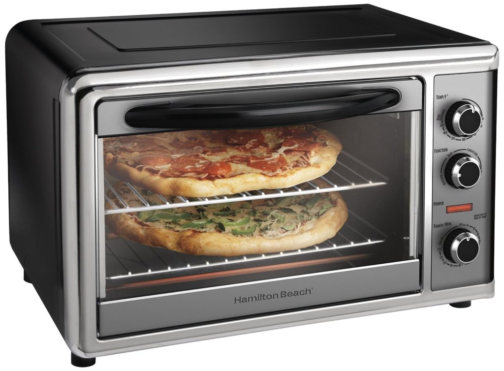 Toaster Oven With 2 Racks Countertop Ovens For Multi Level Cooking