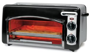Toaster Oven With Toaster On Top